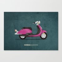 honda Canvas Prints featuring Honda Shadow by Floris Voorveld