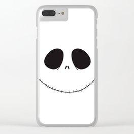 Jack Skellington Halloween Clear iPhone Case