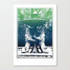 Detroit Zoo Canvas Print
