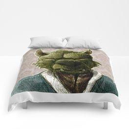duke wolf Comforters