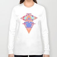 decal Long Sleeve T-shirts featuring TRIBAL CRAYON / by Vasare Nar