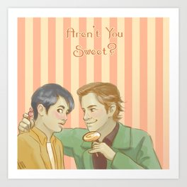 Aren't You Sweet? - Supernatural Art Print