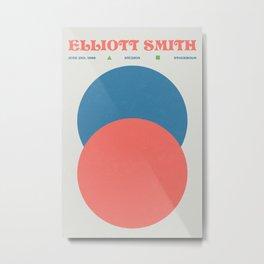 Elliott Smith - Music Poster - Gig - Art Print Metal Print