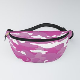 Camo Style - White Pink Camouflage Fanny Pack
