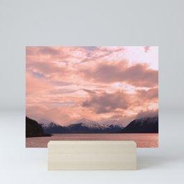 Rose Quartz Over Hope Valley Mini Art Print