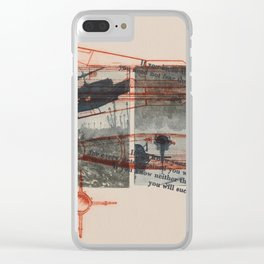 The Art of War Clear iPhone Case