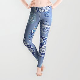 Chinoiserie Ginger Jar Collection No.6 Leggings