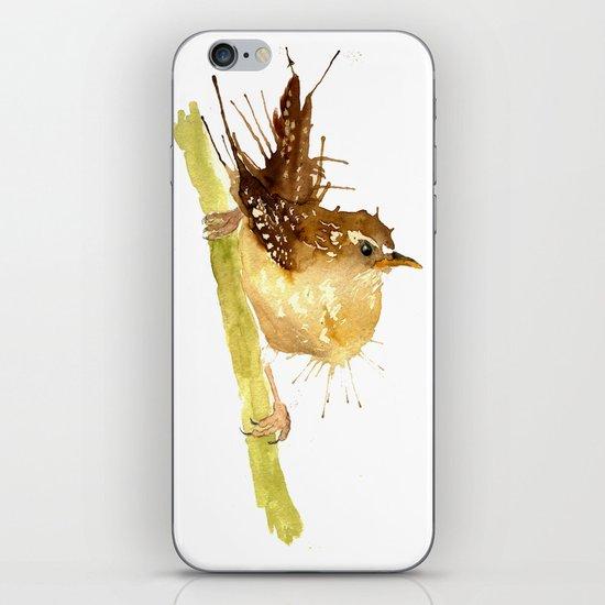 Mrs Wren iPhone & iPod Skin
