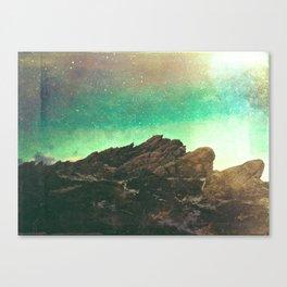 The Crag Canvas Print