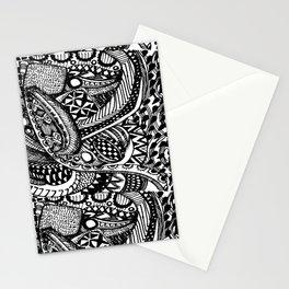 Anti-Matter Pattern Stationery Cards