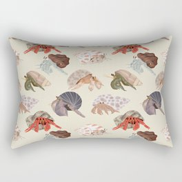 Hermit Crabs Rectangular Pillow