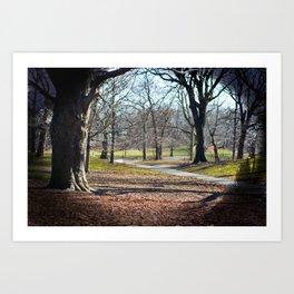 park. Art Print