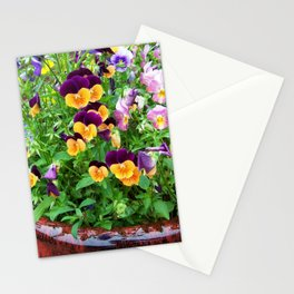 Petunias in a Pot Stationery Cards