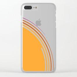 sole equatoriale Clear iPhone Case