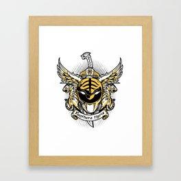 Albus Panthera Tigris Framed Art Print