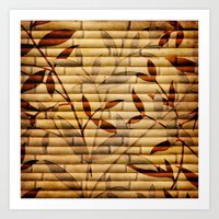 bamboo Art Prints featuring Bamboo by Robin Curtiss