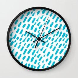 Dashing Darling - Aqua Wall Clock