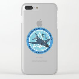 The Usean Ace Logo Clear iPhone Case