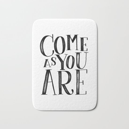 ...as you are Bath Mat