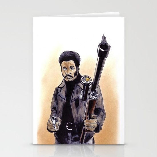 John Shaft (Are You Man Enough?) Stationery Cards