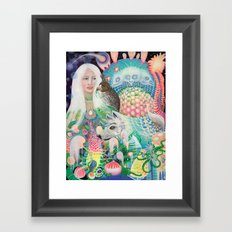 Spirit Fruit Framed Art Print