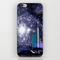 Wonderful starry night. iPhone & iPod Skin