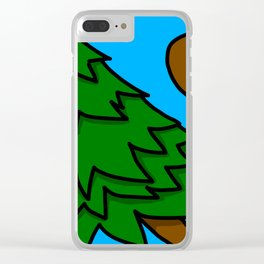 Tree-pping Balls | Veronica Nagorny Clear iPhone Case