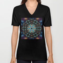 Mandala of aristocracy Unisex V-Neck