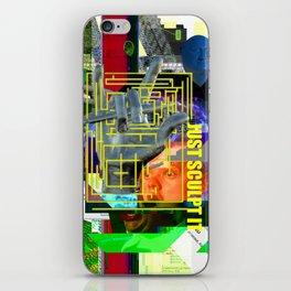 Just Sculpt It 1 iPhone Skin