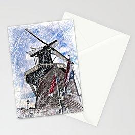 WindMill Haarlem Stationery Cards