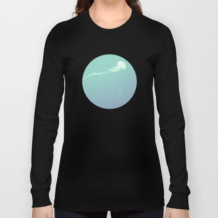 Pulsating Cnidaria. Long Sleeve T-shirt
