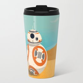 The Little Droid That Could Travel Mug