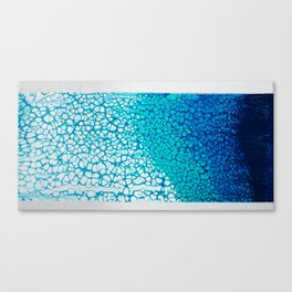 Deep Blue to Light Blue Canvas Print