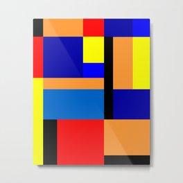 Mondrian #35 Metal Print