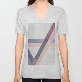 Unespected Geometry Unisex V-Neck