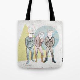 Shy Guy Tote Bag