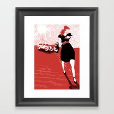 Canicola Framed Art Print