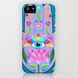 Stunning Hand Of Fatima Artwork By Soozie Wray IPhone Case