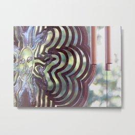 In the garden Metal Print