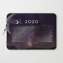 Moon calendar 2020 #4 Laptop Sleeve