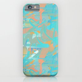 Tropical Abstract - Pool iPhone Case