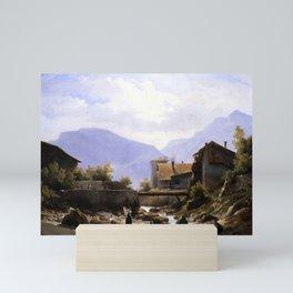 Robert-Léopold Leprince - View of Savoy Mini Art Print