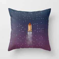 Travel to the Stars Throw Pillow