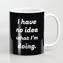 The Clueless Person Coffee Mug
