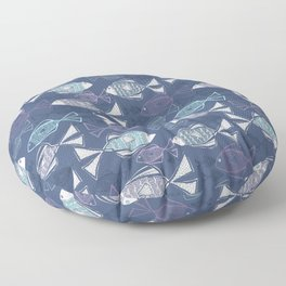Here, Fishy Fishy Floor Pillow