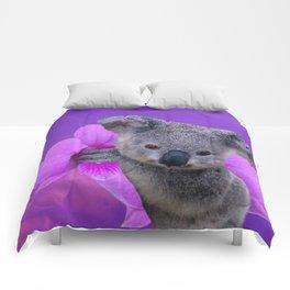 Koala and Orchid Comforters