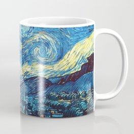 Starry Night Heroes Coffee Mug