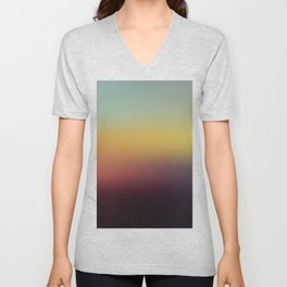 Sunset Gradient 5 Unisex V-Neck