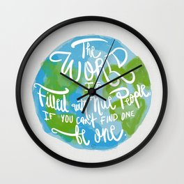 Be One Wall Clock