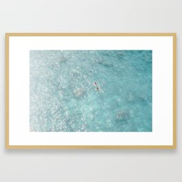 Italia Puglia Sea Framed Art Print